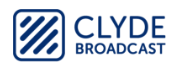 Clyde Broadcast's Company logo