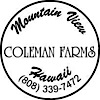 Coleman Farms Hawaii's Company logo
