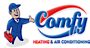 Comfy Heating & Air Conditioning Logo