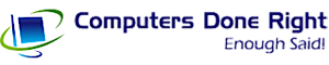 Computers Done Right's Company logo