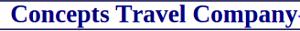 Concepts Travel Company's Company logo