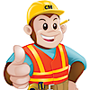Construction Monkey's Company logo