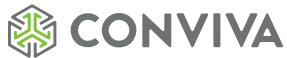 Conviva's Company logo