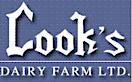 Cook's Dairy Farm's Company logo
