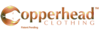 Higher Education Clothing's Competitor - Copperhead Clothing logo