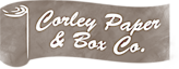 Corley Paper and Box's Company logo
