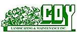 Coy Landscaping and Maintenance's Company logo