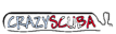B & W Dive's Competitor - Crazy Scuba logo
