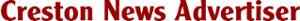 Creston News Advertiser's Company logo