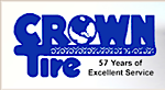Crown Tire's Company logo