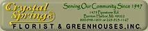 Crystal Springs Florist's Company logo