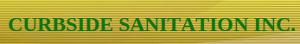Curbside Sanitation's Company logo
