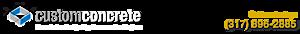 Custom Concrete Company's Company logo