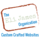 Custom Crafted Websites By The Eli James Organization's Company logo