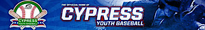 Cypress Youth Baseball's Company logo