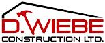 D. Wiebe Construction's Company logo