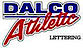 Dalco Athletic Lettering