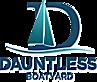Dauntless Boatyard's Company logo