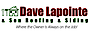 Cole Road Cafe's Competitor - Dave Lapointe & Son Roofing & Siding logo