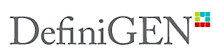 DefiniGEN's Company logo