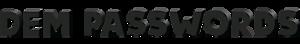Dem Passwords's Company logo