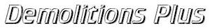 Demolitions Plus's Company logo