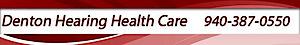 Denton Hearing Health Care's Company logo