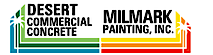 Desert Commercial Concrete and Milmark Painting's Company logo