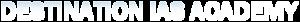 Destination Ias Academy's Company logo