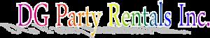 Dg Party Rentals's Company logo