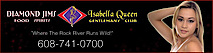 Diamond Jim's Isabella Queen's Company logo