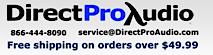 Direct Pro Audio's Company logo