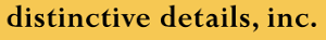 Distinctive Details's Company logo