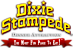 Silver Dollar City's Competitor - Dixie Stampede logo