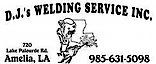 Dj's Welding Service's Company logo