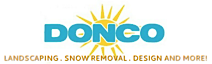 Donco Landscaping's Company logo