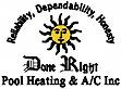 Done Right Pool Heating's Company logo