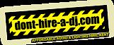 Dont Hire A Dj's Company logo
