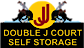 Double J Court Self Storage Logo