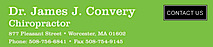 Dr. James J. Convery, Chiropractor's Company logo