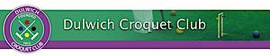 Dulwich Croquet Club's Company logo