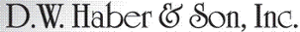 DW Haber and Son's Company logo