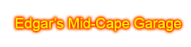 Edgar's Mid-cape Garage's Company logo