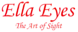 West Houston Eye's Competitor - Ella Eyes logo