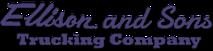 Ellison & Sons Trucking's Company logo