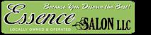 Essence Hair Salon's Company logo