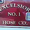 Excelsior Hose Company #1, Olyphant's Company logo