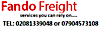 Nahco Aviance's Competitor - Fando Freight Cargo Service logo