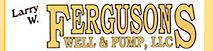 Ferguson's Well & Pump's Company logo