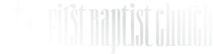 First Baptist Church, Donora's Company logo